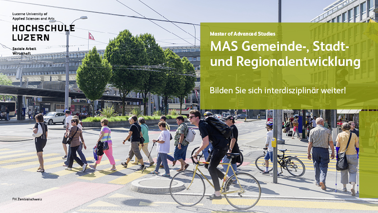 Hochschule Luzern MAS Gemeinde-, Stadt- und Regionalentwicklung