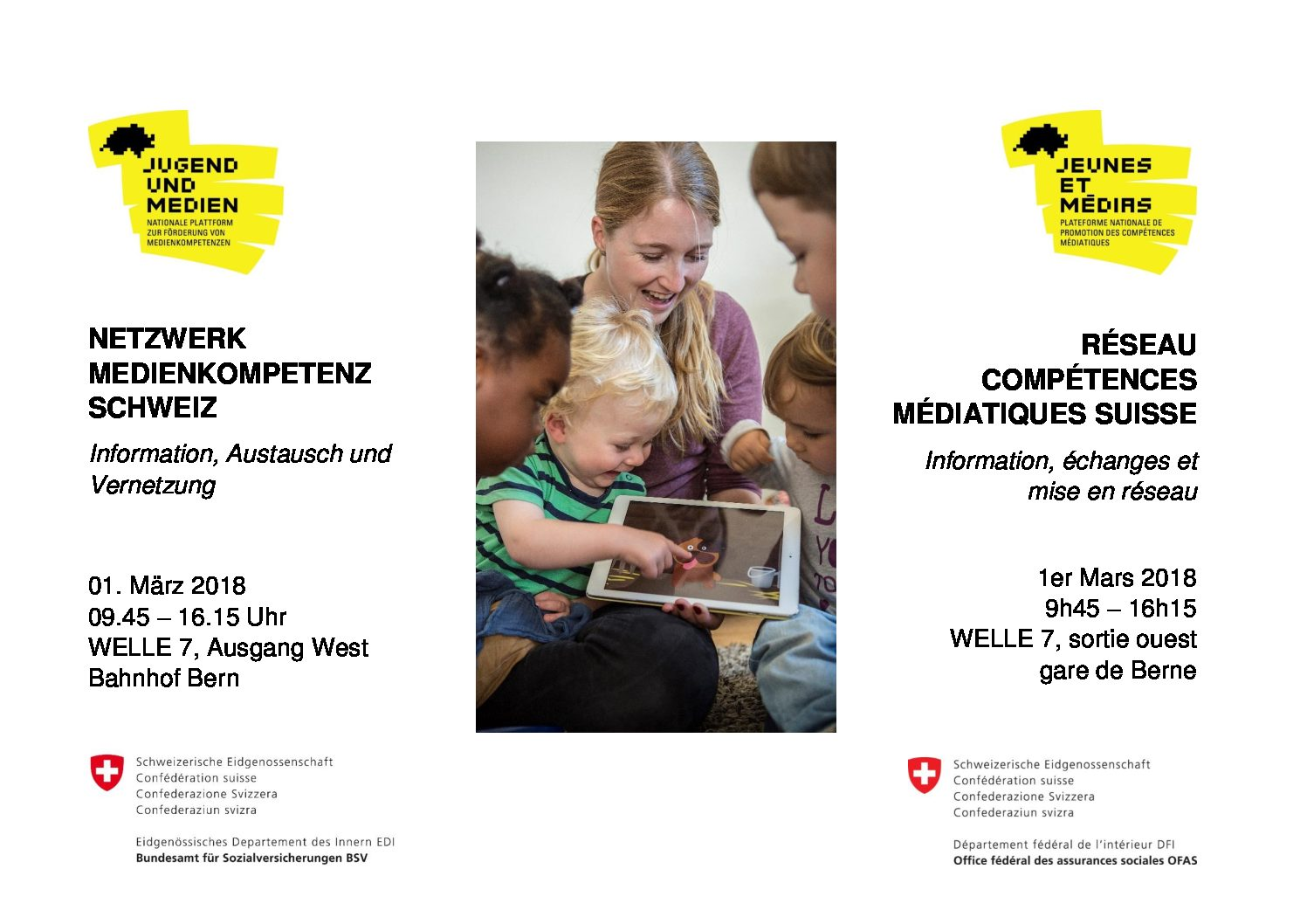 """Rückblick """"Netzwerk Medienkompetenz Schweiz"""", 01.03.18"""