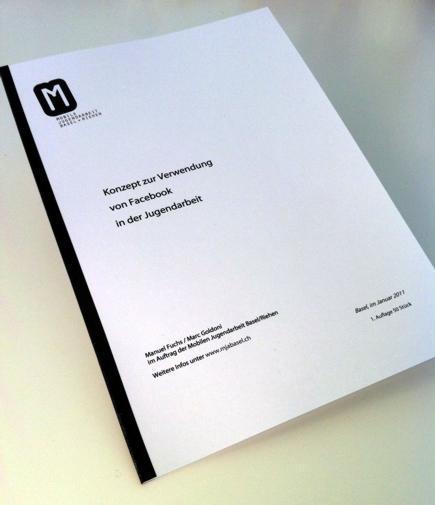 """""""Facebook in der Offenen Jugendarbeit"""" – Konzept der MJA Basel"""