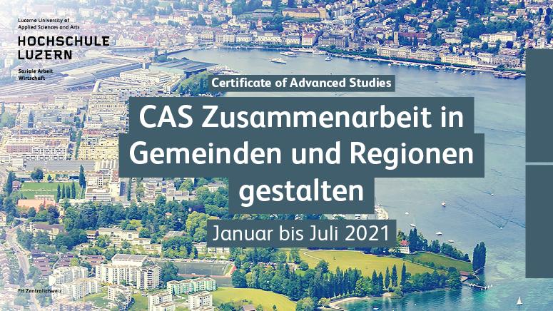 Hochschule Luzern CAS Zusammenarbeit in Gemeinden und Regionen gestalten