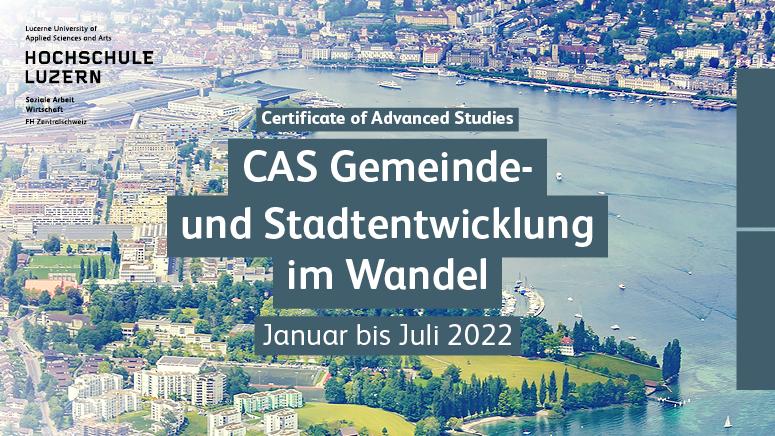 CAS Gemeinde- und Stadtentwicklung im Wandel - Hochschule Luzern hslu