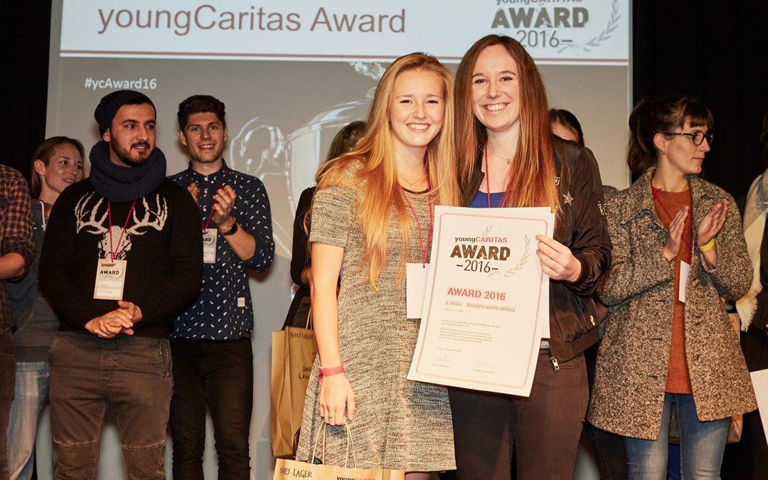 Jetzt Jugendprojekte für den youngCaritas-Award anmelden!