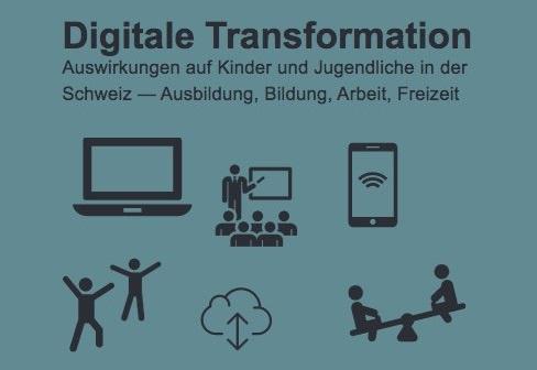 """Bericht """"Digitale Transformation – Auswirkungen auf Kinder und Jugendliche in der Schweiz"""""""