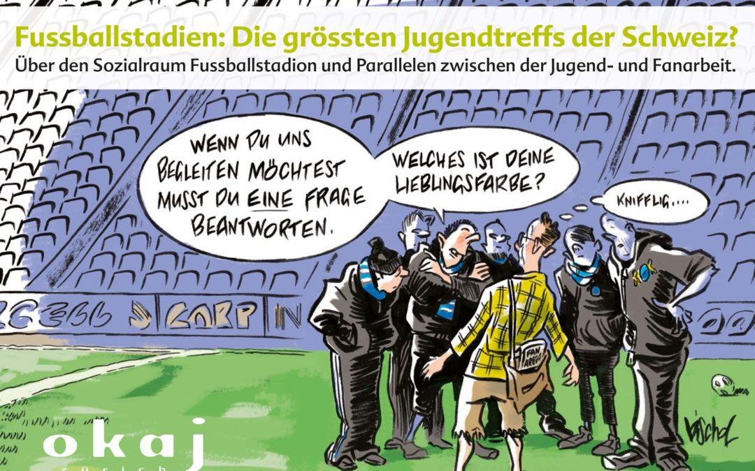 Fussballstadien: Die grössten Jugendtreffs der Schweiz?